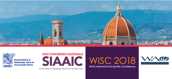 "<p style=""text-align: left; font-size: 20px; font-weight: bold;""><a href=""http://www.wiscsiaaic2018.org"" target=""_blank"" rel=""noopener noreferrer"">6/9 DECEMBER 2018 – FLORENCE >>></a></p> <p style=""text-align: left; font-size: 14px;""><a href=""http://www.wiscsiaaic2018.org"" target=""_blank"" rel=""noopener noreferrer"">Personalized Medicine In Allergy: Biologics & Immunotherapy</a></p>"